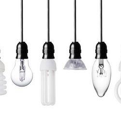 coleta de lâmpadas frias