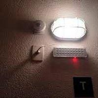 Sistema de iluminação de emergência para incêndios