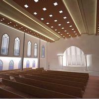 Iluminação LED para igrejas