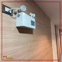 Sistema de iluminação de emergência para incendios